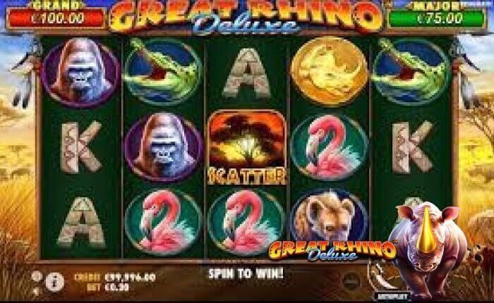 игровой автомат Great Rhino Deluxe