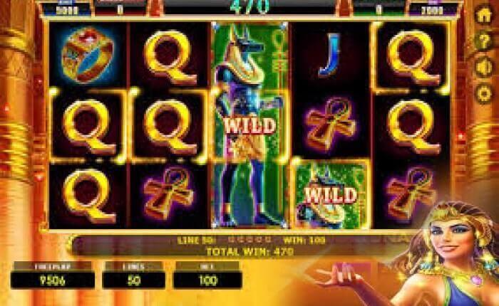 игровой автомат lucky egypt