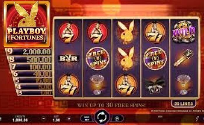 игровой автомат PLAYBOY FORTUNE