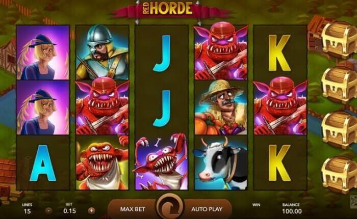 игровой автомат REDHORDE