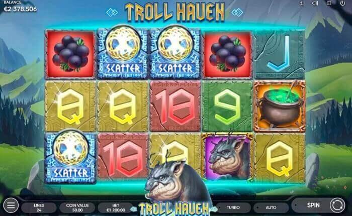 игровой автомат TROLL HAUEN